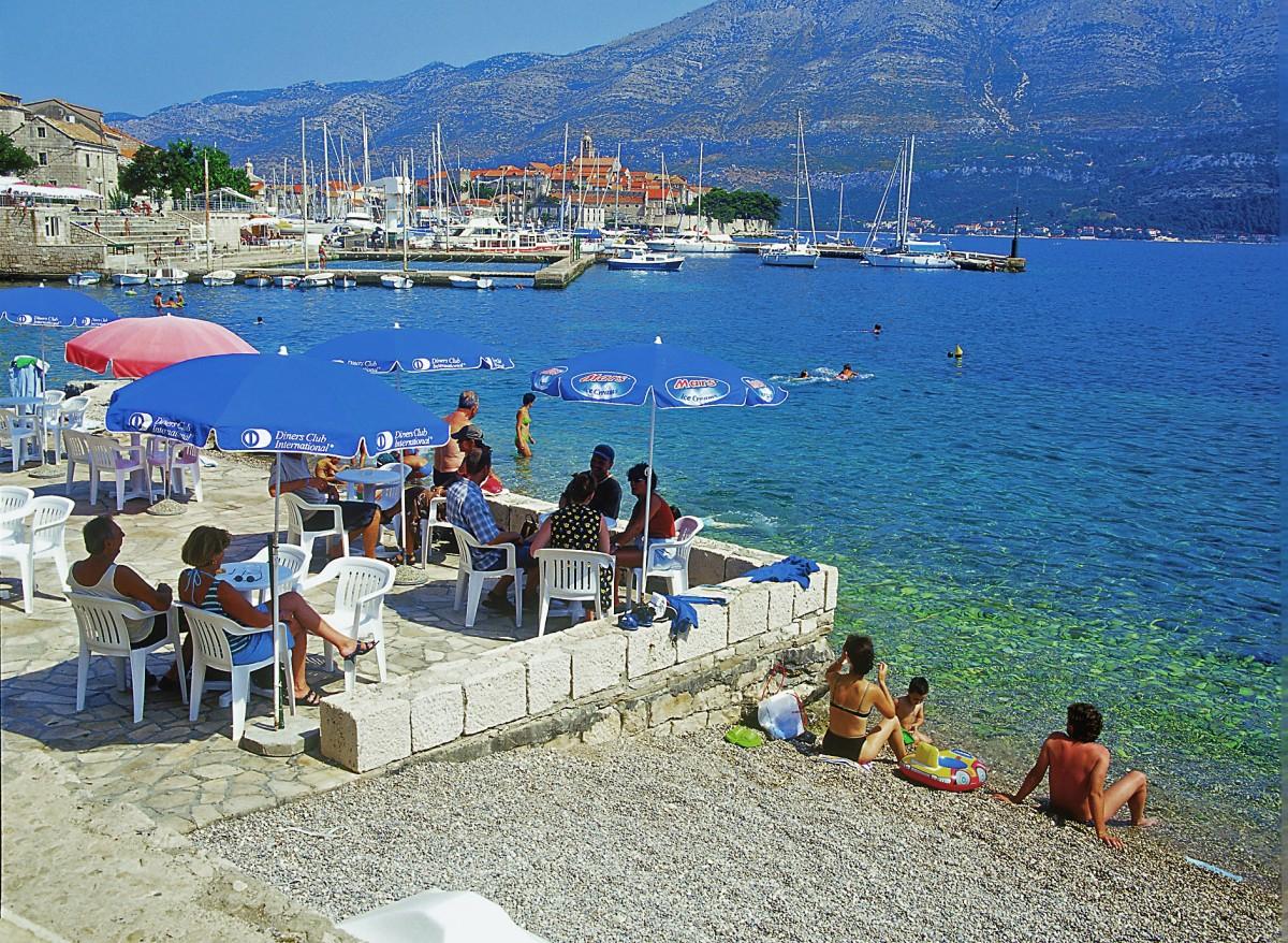 hotel park insel korcula dalmatien kroatien i d riva tours. Black Bedroom Furniture Sets. Home Design Ideas