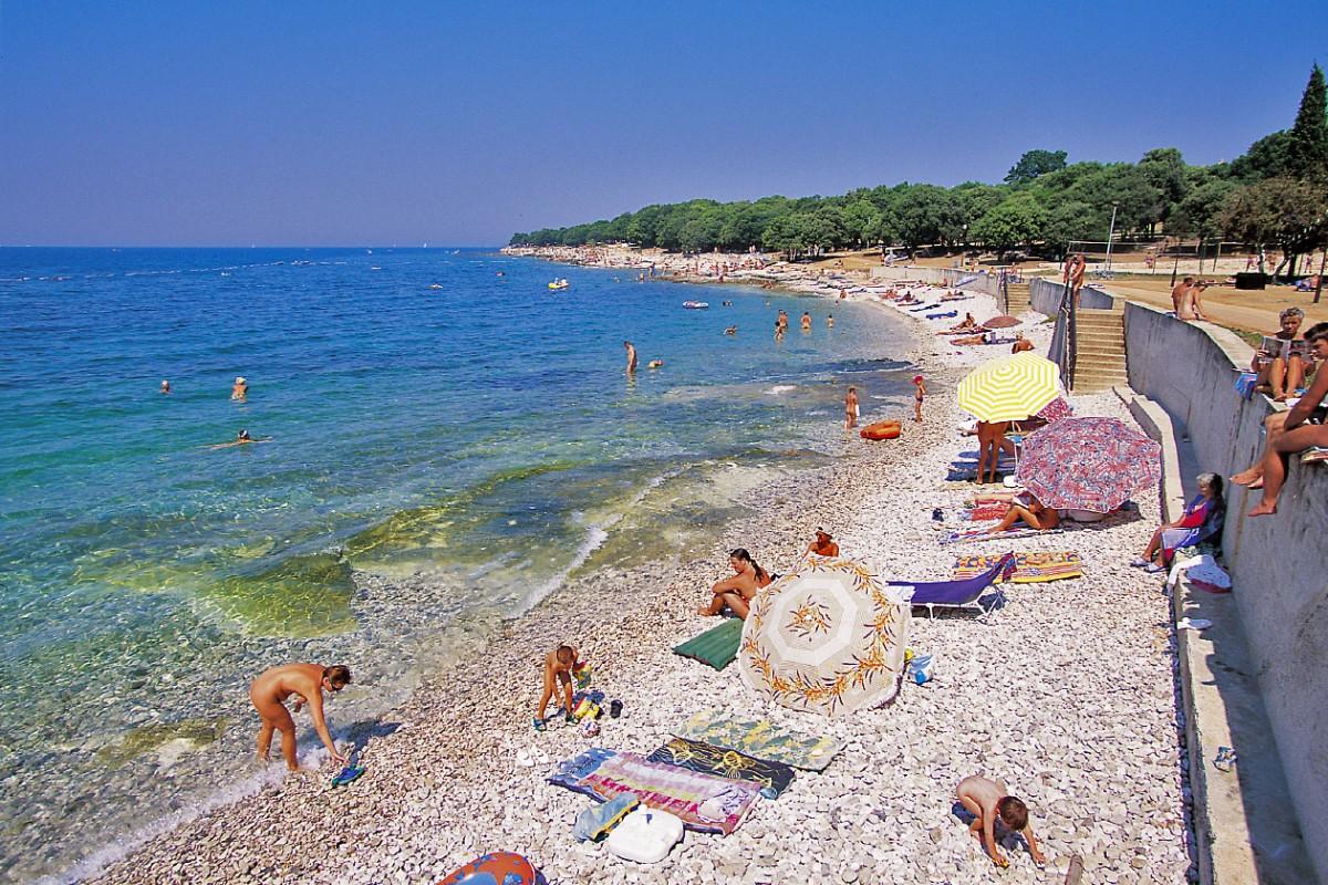 FKK Solaris in Porec-Ferienanlage Istrien Kroatien - I.D